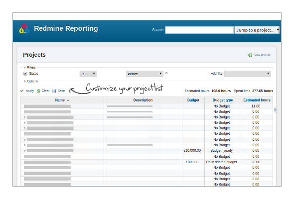Redmine Plugin Reporting