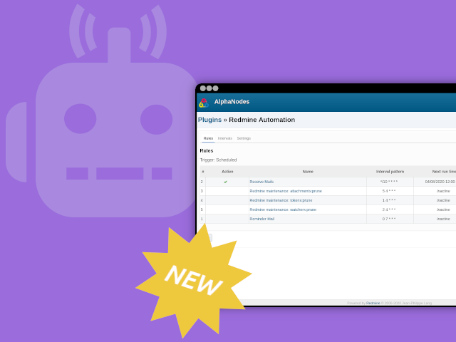 Redmine Automation Plugin